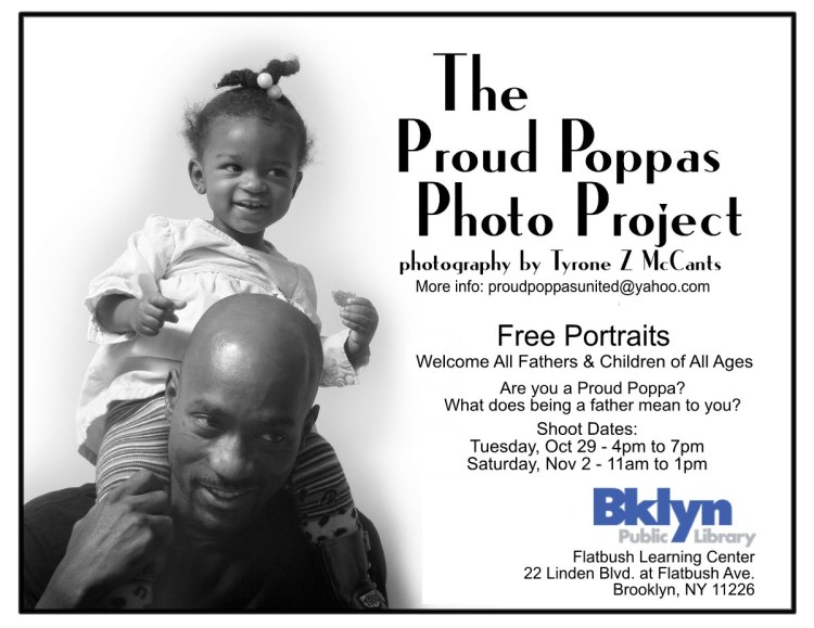 Proud Poppas Photo Shoot @ the Flatbush Public Library in Flatbush, Brooklyn