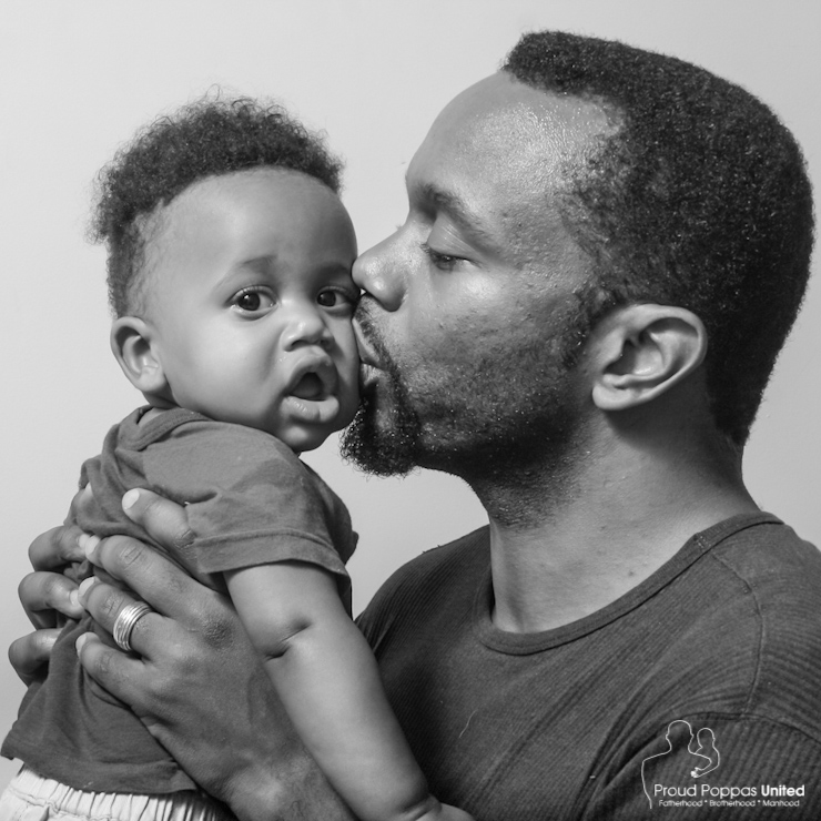"""""""On a deeply personal level Fatherhood is an opportunity to give my children that which was not given to me. My father did not raise me. His father did not raise him. I am raising my son and daughter. Unexpectedly, fatherhood has become a healing process."""" ~Rod, Layla and Brock"""