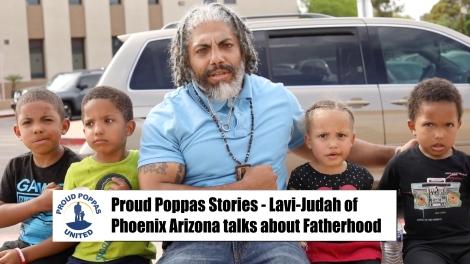 Proud Poppas Talk With Fathers In Arizona:Lavi-Judah
